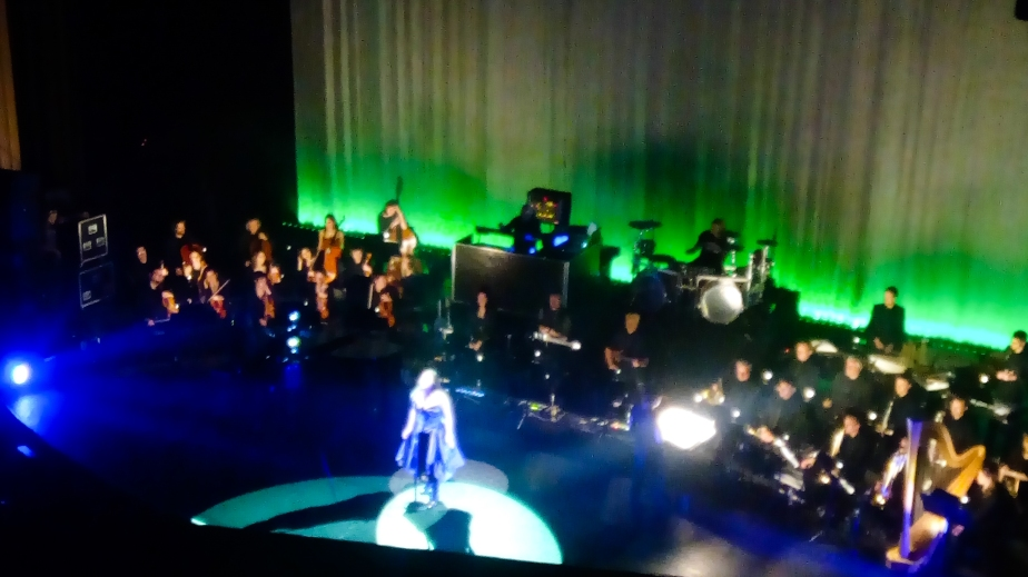 Evanescence performance at Le Grand Rex, Paris